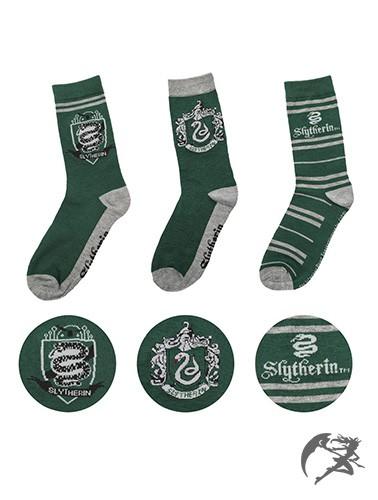 Harry Potter Slytherin Socken 3er Pack