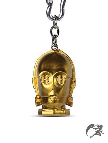 Star Wars C-3PO 3D Schlüsselanhänger
