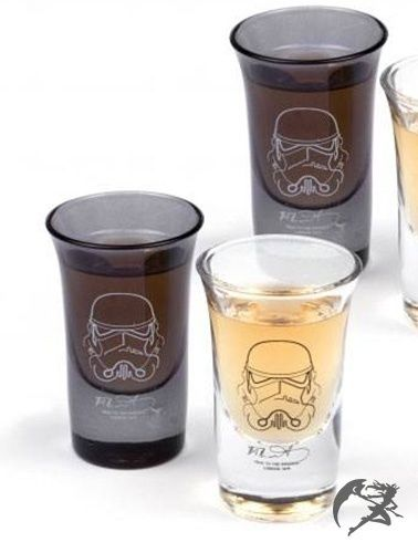 Star Wars Stormtrooper Schnapsgläser 4er Pack