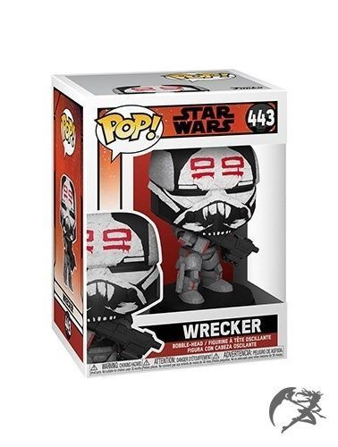 Star Wars The Bad Batch Funko POP Wrecker