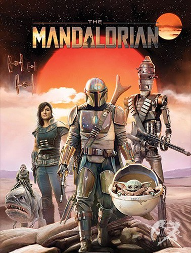 Star Wars The Mandalorian Poster Group