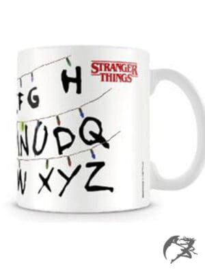 Stranger Things Tasse Lights