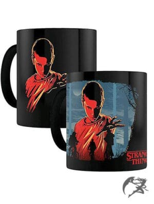 Stranger Things Tasse Thermoeffekt Woods