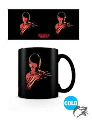 Stranger Things Tasse Thermoeffekt Woods kalt