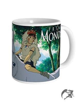 Studio Ghibli Princess Mononoke Tasse