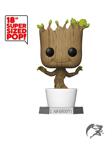 Super Sized Funko POP Dancing Groot