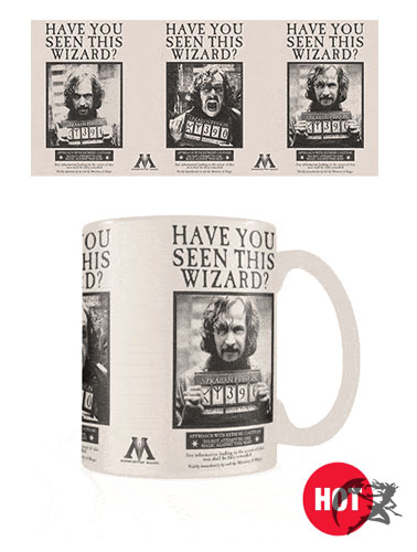 Wanted Sirius Black Tasse mit Thermoeffekt