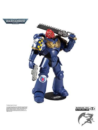 Warhammer 40k Space Marine Actionfigur