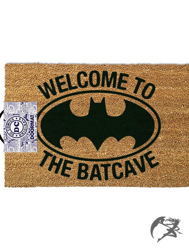 Welcome to the Batcave Fussmatte