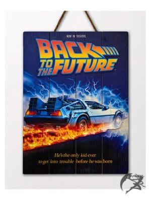 Wood Arts3D Back to the Future DeLorean