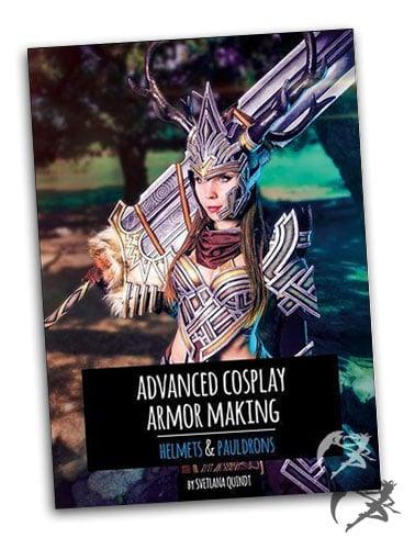 Kamui Cosplay Advanced Cosplay Armor Making – Helmets & Pauldrons