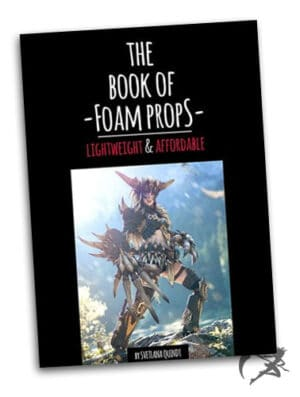 Kamui Cosplay The book of foam props