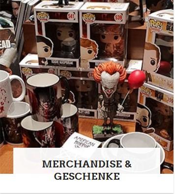 Kategorie Merchandise und Geschenke