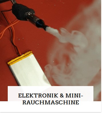 Kategorie Mini Smokemachine und Elektronik Bauteile