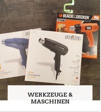 Kategorie Maschinen und Werkzeuge