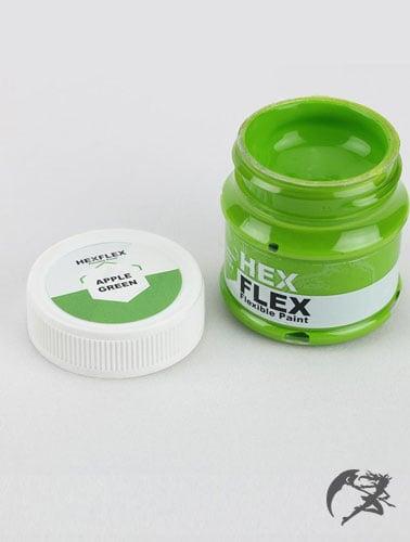 Hexflex Flexible Paint von Poly Props Apfelgrün