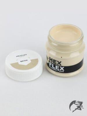 Hexflex Flexible Paint von Poly Props Beige