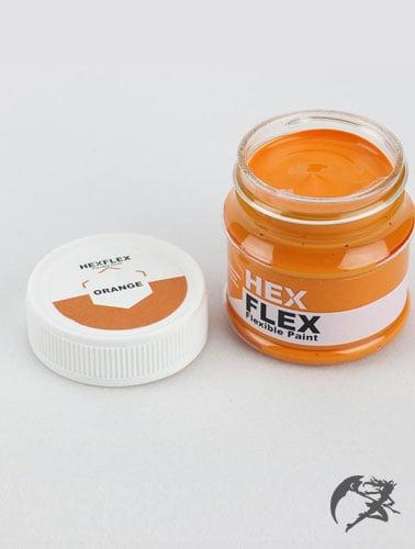 Hexflex Flexible Paint von Poly Props Orange