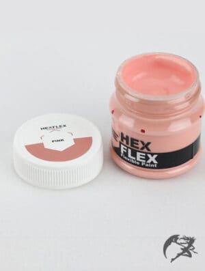 Hexflex Flexible Paint von Poly Props pink