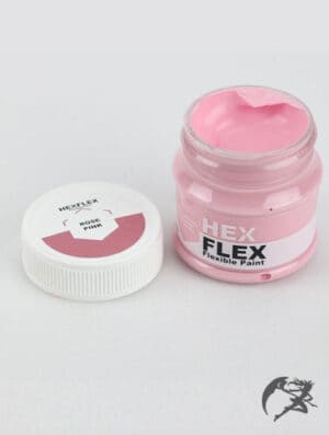 Hexflex Flexible Paint von Poly Props Rosarot