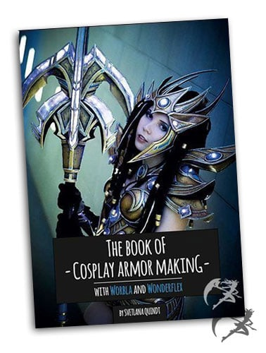 Kamui Cosplay The Book of Cosplay Armor Making – Worbla