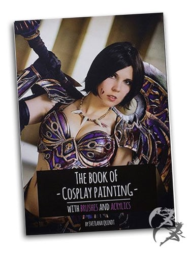 Kamui Cosplay The Book of Cosplay Painting – Brushes and Acrylics