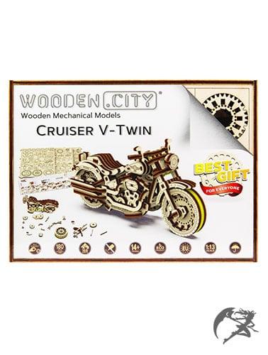 3D Holzbausatz wooden.City Cruiser V Twin