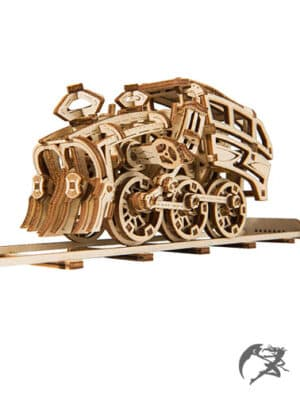 3D Holzbausatz Wooden.City Dream Express Locomotive