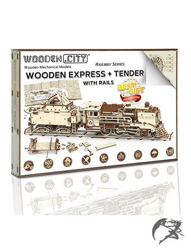 3D Holzbausatz Wooden.City Wooden-Express Tender