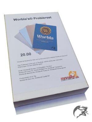 Porbierset aller Worbla's mit Samples zum testen